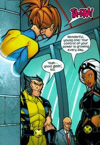 X-Men (Earth-50302) from Marvel Age Spider-Man Team-Up Vol 1 3 0001