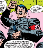 Adolf Hitler (Earth-616) from Invaders Vol 1 17 001