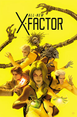 All-New X-Factor Vol 1 20 Final Issue Variant Textless