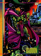 Badoon from Marvel Universe Cards Series IV 0001
