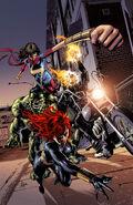 Captain America Sam Wilson Vol 1 14 Champions Variant Textless