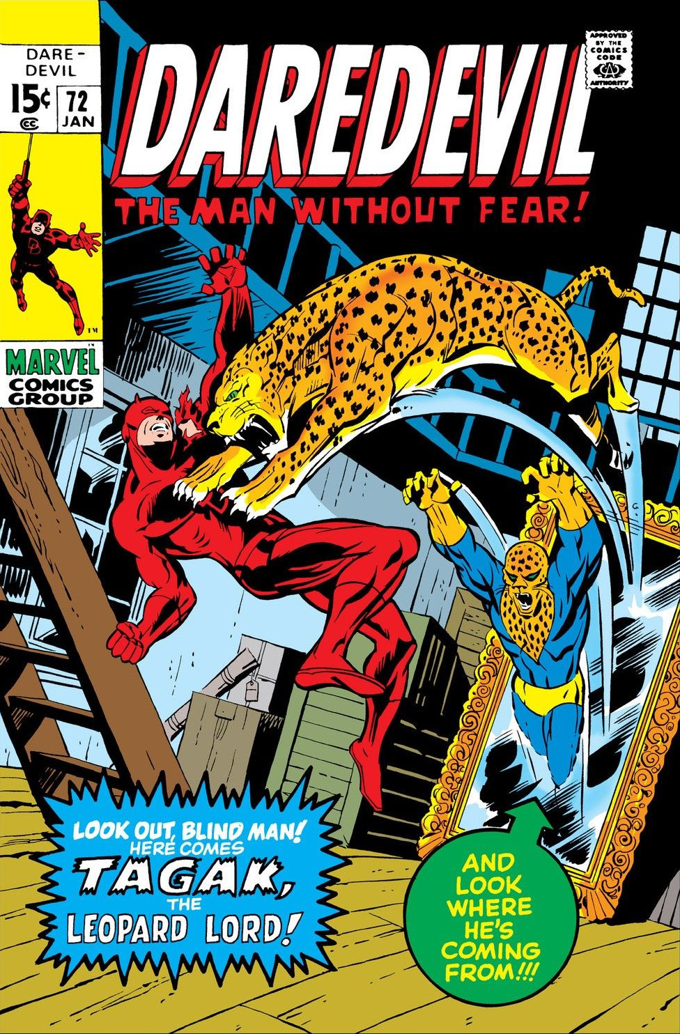 Daredevil Vol 1 72