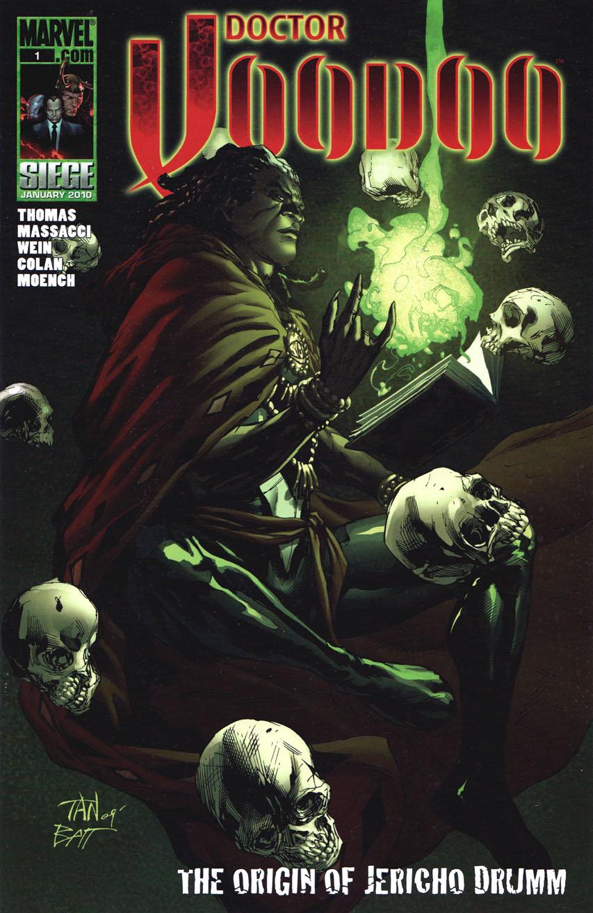 Doctor Voodoo The Origin of Jericho Drumm Vol 1 1