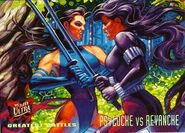 Elizabeth Braddock and Revanche (Kwannon) (Earth-616) from 1995 Ultra X-Men (Trading Cards) 0001