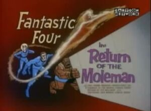 Fantastic Four (1967 animated series) Season 1 13 Screenshot