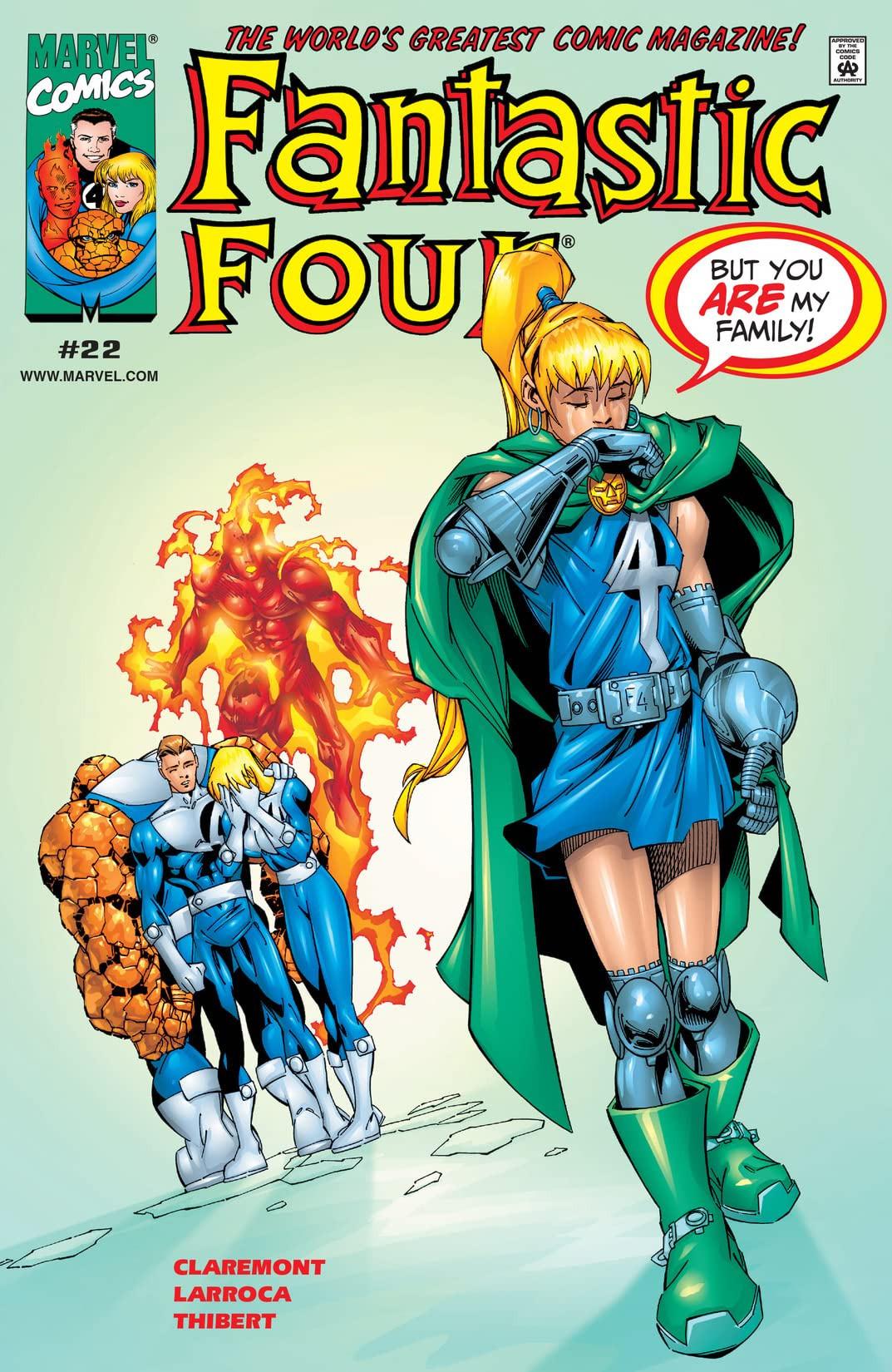 Fantastic Four Vol 3 22
