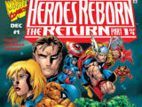 Heroes Reborn: The Return Vol 1 1