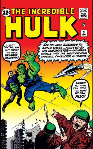 Incredible Hulk Vol 1 3