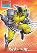 James Howlett (Earth-616) from Marvel Legends (Trading Cards) 0001
