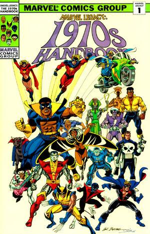 Marvel Legacy The 1970s Handbook Vol 1 1