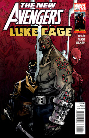 New Avengers Luke Cage Vol 1 1