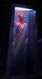 Spider-Man's Advanced Suit from Spider-Man Into the Spider-Verse 001