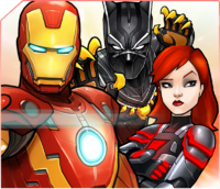 Team Iron Man (Earth-TRN562) from Marvel Avengers Academy 001