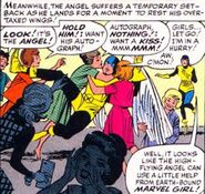 Warren Worthington III (Earth-616) from X-Men Vol 1 2 0001