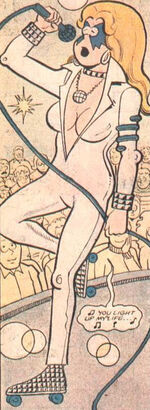 Alison Blaire (Earth-89768) from Fred Hembeck Destroys the Marvel Universe Vol 1 1 0001