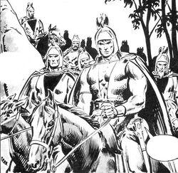 Black Dragons (Aquilonia) (Earth-616) from Savage Sword of Conan Vol 1 52 0001