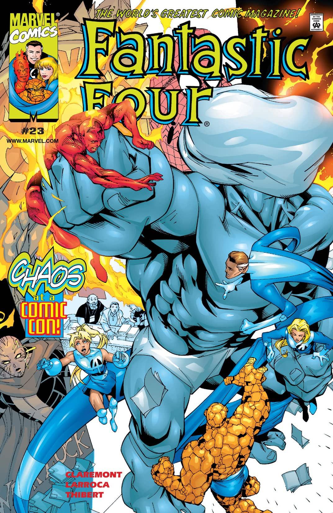 Fantastic Four Vol 3 23