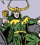 Loki Laufeyson (Earth-77013) Spider-Man Newspaper Strips