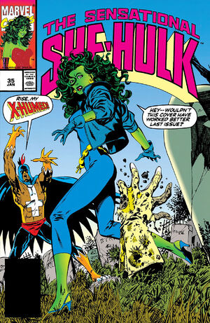 Sensational She-Hulk Vol 1 35