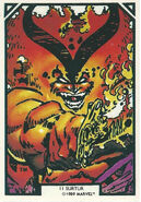 Surtur (Earth-616) from Arthur Adams Trading Card Set 0001
