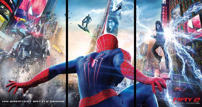 The Amazing Spider-Man 2 (film) banner