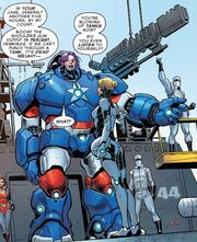 Toni Ho (Earth-616) and Aikku Jokinen (Earth-616) from U.S.Avengers Vol 1 6 001