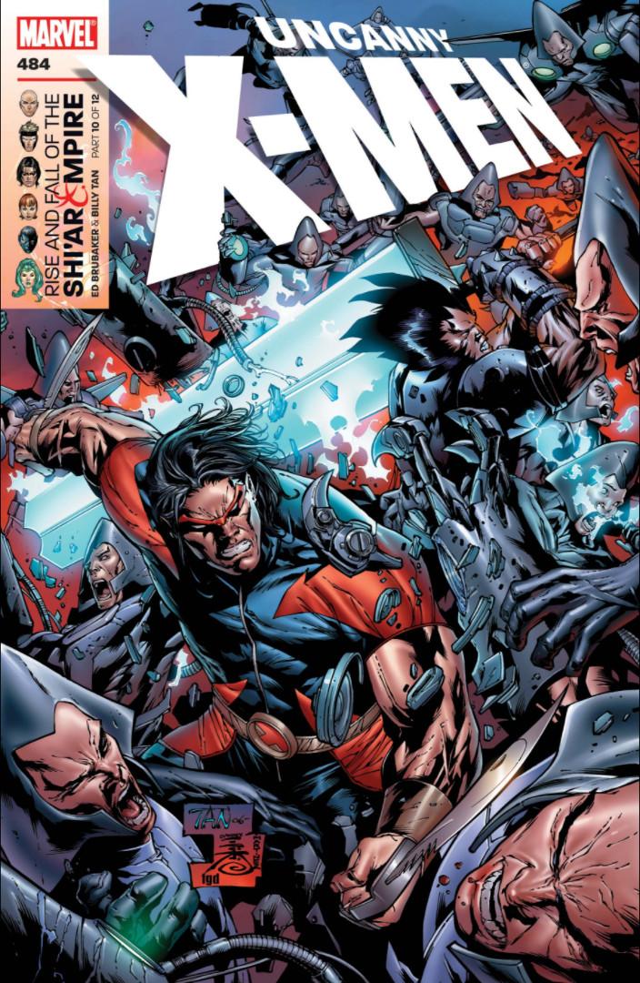 Uncanny X-Men Vol 1 484