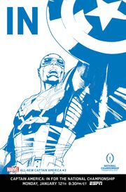 All-New Captain America Vol 1 3 IN Variant