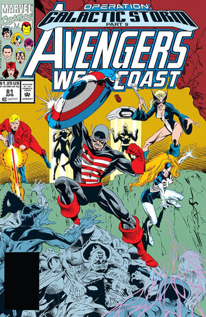 Avengers West Coast Vol 2 81