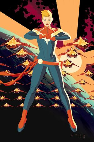 Captain Marvel Vol 9 1 Textless