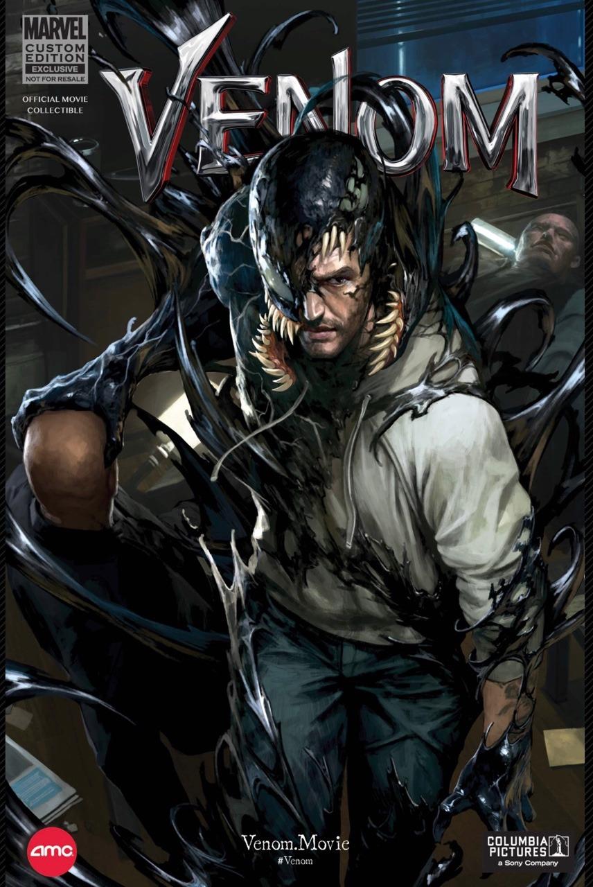 Custom Sony Pictures 2018 Venom English Comic Vol 1 1 ...