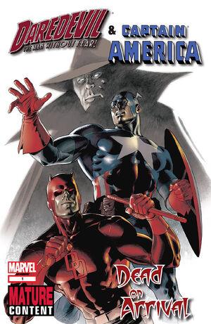 Daredevil & Captain America Dead on Arrival Vol 1 1