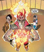 David Haller (Earth-616), Karasu-Tengu (Earth-616), Sojobo-Tengu (Earth-616) from X-Men Legacy Vol 2 3 0001