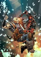 Deadpool & Cable Split Second Vol 1 1 Liefeld Variant Textless