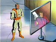 Gamesmaster (Earth-121193) and Graydon Creed, Jr. (Earth-121193) from X-Men The Animated Series Season 2 7 0001