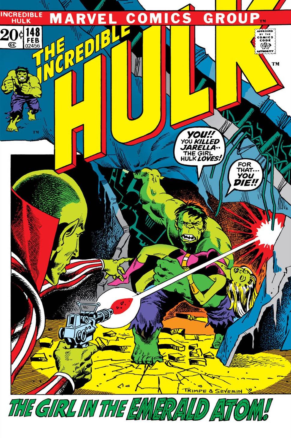 Incredible Hulk Vol 1 148