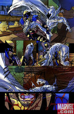 James Howlett (Earth-14850) and Marc Spector (Earth-14850) from What If Wolverine Enemy of the State Vol 1 1 0001