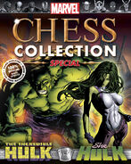 Marvel Chess Collection Special Vol 1 Hulk and She-Hulk
