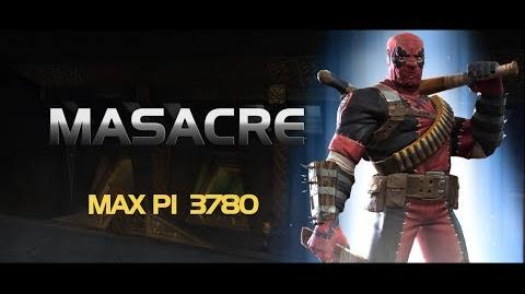Masacre Special Moves Marvel Contest of Champions