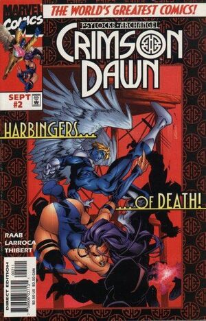Psylocke and Archangel Crimson Dawn Vol 1 2