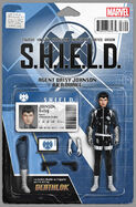 Quake S.H.I.E.L.D. 50th Anniversary Vol 1 1 Action Figure Variant
