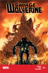 Savage Wolverine Vol 1 13