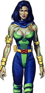 Shakti Haddad (Earth-928) from X-Men 2099 Oasis Vol 1 1 001