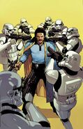 Star Wars Lando Vol 1 1 Leinil Francis Yu Variant Textless