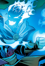 Stephen Strange (Earth-TRN196) and Dormammu (Earth-TRN196) from X-Factor Vol 1 231 001