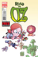 The Road to Oz Vol 1 1 variant 2