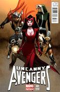 Uncanny Avengers Vol 1 1 Olivier Copiel Variant