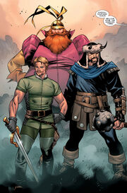 Warriors Three (Earth-616) from Thor Vol 3 4 0001