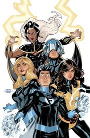 X-Men Fantastic Four Vol 2 1 Textless