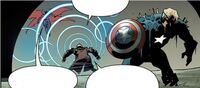Alexander Summers and Steven Rogers (Earth-26111) from Uncanny Avengers Vol 1 8AU 0001